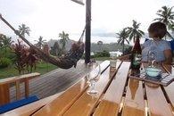 Bula Vista, Savusavu, Fiji with hammock