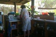 Kitchen, Bula Vista, Savusavu, Fiji