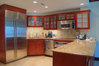 Stainless Steel Appliances and Granit Countertops